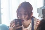 日本テレビ深夜ドラマ『シンドラ』第16弾『武士スタント 逢坂くん!』に出演する長井短(C)NTV/JS
