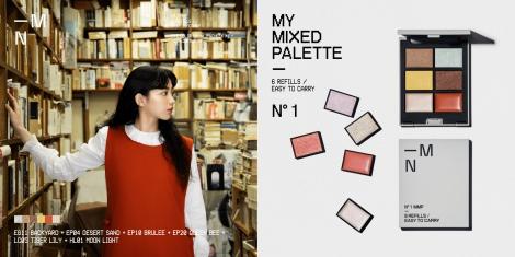 サムネイル D2Cセルフメイクブランド「MN(エムエヌ)」の商品『MY MIXED PALETTE』