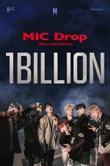 「MIC Drop (Steve Aoki Remix)」MVが10億再生を突破したBTS