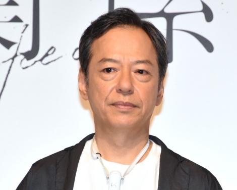 縦型ドラマ『上下関係』の完成披露発表会に出席した板尾創路 (C)ORICON NewS inc.