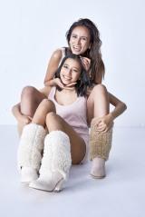 MALIA.の長女・アリア、中学3年生で本格モデルデビュー イメージビジュアルで親子初共演