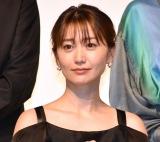 """""""オフショル黒ドレス""""で会場を魅了した大島優子 (C)ORICON NewS inc."""