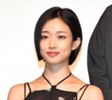 縦型ドラマ『上下関係』の完成披露発表会に出席した河合優実 (C)ORICON NewS inc.