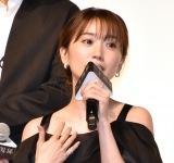 縦型ドラマ『上下関係』の完成披露発表会に出席した大島優子 (C)ORICON NewS inc.
