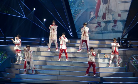 『なにわ男子 First Arena Tour 2021 #なにわ男子しか勝たん』の模様 (C)ORICON NewS inc.