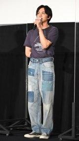 映画『東京リベンジャーズ』大ヒット御礼! 東リベの夏は終わらない! 舞台あいさつに登壇した北村匠海 (C)ORICON NewS inc.