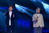 コンビ歴22年にして初めて2人で歌唱&演奏に挑戦する平成軍リーダーのフットボールアワー(C)TBS