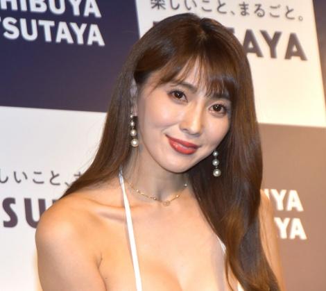 下着グラビアムック『おふさいど』出版記念イベントに登壇した森咲智美 (C)ORICON NewS inc.