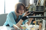 『武士スタント逢坂くん!』第2話に出演する長井短 (c)ヨコヤマノブオ・小学館/NTV・J Storm