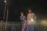 『武士スタント逢坂くん!』第2話に出演する長井短、今井隆文 (c)ヨコヤマノブオ・小学館/NTV・J Storm
