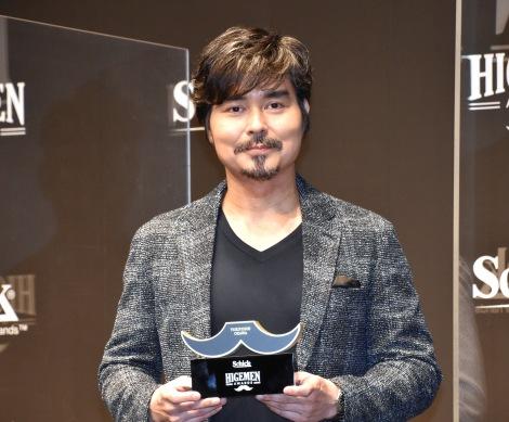 『HIGEMEN AWARDS 2021』表彰式に出席した小澤征悦 (C)ORICON NewS inc.