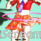 イラストレーター・山口はるみ氏が手がけたiScream『Maybe...YES EP』ジャケット