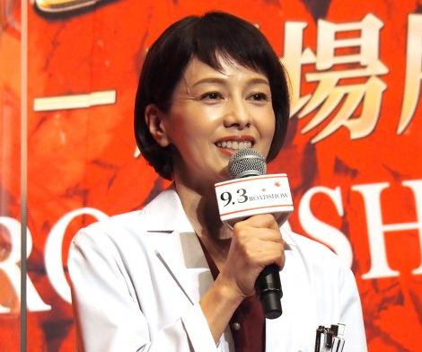 ファンへの思いを吐露した沢口靖子=『科捜研の女 -劇場版-』完成報告イベント (C)ORICON NewS inc.