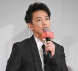 映画『護られなかった者たちへ』完成披露試写会に登壇した佐藤健 (C)ORICON NewS inc.