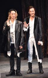 舞台『フォーティンブラス』取材会に出席した(左から)戸塚祥太、内博貴 (C)ORICON NewS inc.