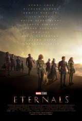 マーベル・スタジオ映画『エターナルズ』US版ポスター (C)Marvel Studios 2021