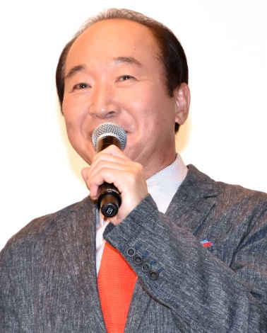 『孤狼の血 LEVEL2』公開記念舞台あいさつに出席した中村梅雀 (C)ORICON NewS inc.