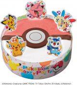サーティワン アイスクリームとポケットモンスターがコラボ「ポケモン サプライズケーキ」(参考価格3600円)(C)Nintendo・Creatures・GAME FREAK・TV Tokyo・ShoPro・JR Kikaku (C)Pokemon