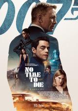 映画『007/ノー・タイム・トゥ・ダイ』(10月1日公開)日本版ポスタービジュアル (C)Danjaq, LLC and Metro-Goldwyn-Mayer Studios Inc.All Rights Reserved.