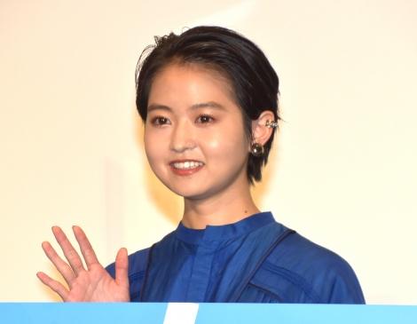 映画『サマーフィルムにのって』大ヒット御礼舞台あいさつに参加した伊藤万理華 (C)ORICON NewS inc.