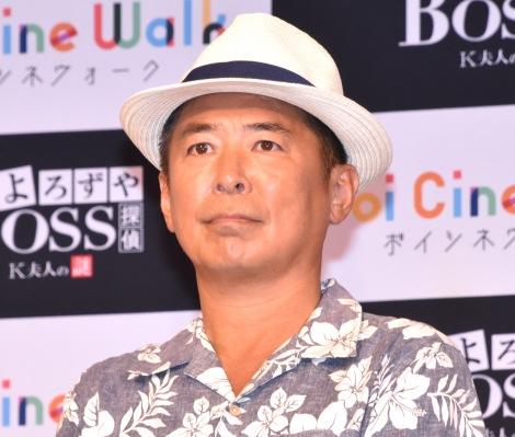 『Voi cine Walk「よろずや探偵BOSS K夫人の謎」』の制作発表会見に出席した勝俣州和 (C)ORICON NewS inc.