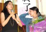 (左から)木村多江、高畑充希=『とと姉ちゃん』クランクアップ取材会(C)ORICON NewS inc.