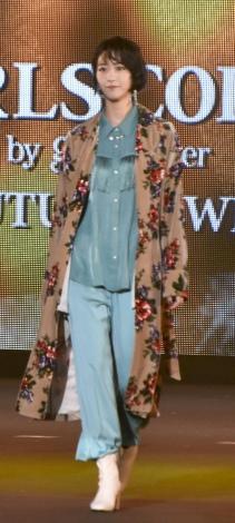 『第33回 マイナビ 東京ガールズコレクション 2021 AUTUMN/WINTER』に出演した櫻坂46・土生瑞穂 (C)ORICON NewS inc.