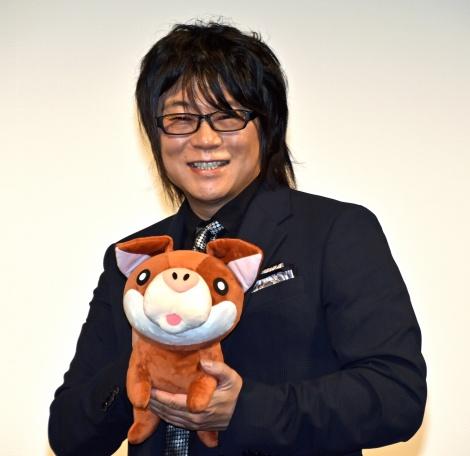 アニメ映画『リクはよわくない』完成披露イベントに登壇した森川智之 (C)ORICON NewS inc.