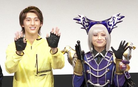 (左から)木原瑠生、桃月なしこ=「ヨドンナ」「ヨドンナ2」舞台挨拶 (C)ORICON NewS inc.