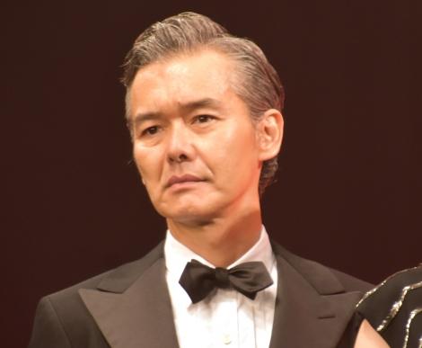 映画『マスカレード・ナイト』完成披露試写会に出席した渡部篤郎 (C)ORICON NewS inc.
