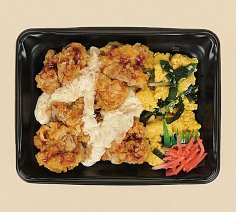 タルタル鶏天丼(税込356円)