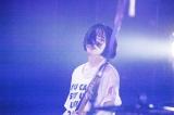無期限活動休止を発表したBiSHアユニ・Dバンドプロジェクト「PEDRO」(9月7日=東京・Zepp DiverCity) Photo by 外林健太