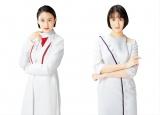 シオノギヘルスケアのかぜ薬「パイロンPL顆粒Pro」(左)とせき止め薬「メジコンせき止め錠Pro」(右)のCMに出演する山本美月