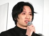 『DIVOC-12』完成披露試写会で涙ながらに作品への思いを語った藤原季節 (C)ORICON NewS inc.