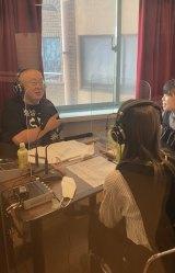 松村邦洋のラジオにゲスト出演したKOBerrieS♪