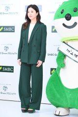 『SMBC Greenプロジェクト』発表会に登壇した吉高由里子 (C)ORICON NewS inc.