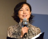 "『ARASHI Anniversary Tour 5×20 FILM ""Record of Memories""』ジャパンプレミアに登壇した有働由美子 (C)ORICON NewS inc."
