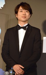 "『ARASHI Anniversary Tour 5×20 FILM ""Record of Memories""』ジャパンプレミアに登壇した櫻井翔 (C)ORICON NewS inc."