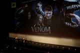 映画『ヴェノム:レット・ゼア・ビー・カーネイジ』(2021年公開)ロンドンで開催されたファン・スクリーニング・イベントの模様(C)2021 CTMG. (C)& TM 2021 MARVEL. All Rights Reserved.