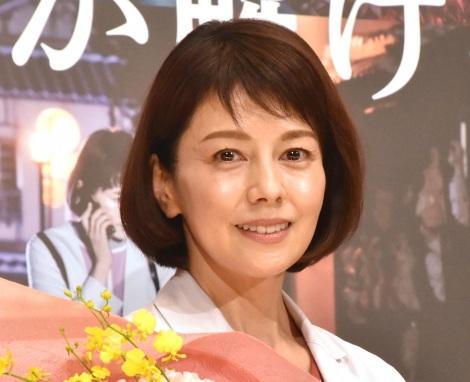 映画『科捜研の女 劇場版』大ヒット御礼舞台あいさつに登壇した沢口靖子 (C)ORICON NewS inc.