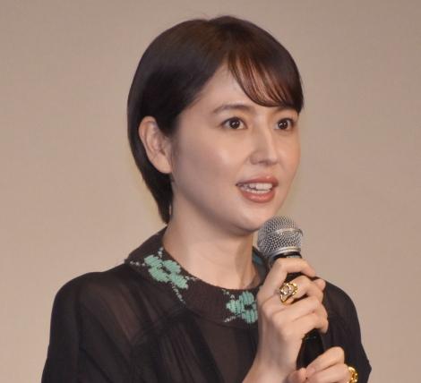 映画『マスカレード・ナイト』の初日舞台あいさつに出席した長澤まさみ (C)ORICON NewS inc.