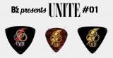 『B'z presents UNITE #01』配信ライブチケットを8月1日〜10月17日午後9時までに購入すると、抽選でオリジナルグッズが当たるキャンペーン実施(写真はピックセット)