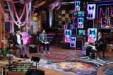 17日放送の『MUSIC BLOOD』に出演した(左から)千葉雄大、田中圭、KREVA (C)日本テレビ