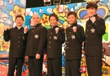 日本テレビ『ガキ使』の大みそか『笑ってはいけない』シリーズが今年で休止(写真は『青春ハイスクール24時!』の記者会見時) (C)ORICON NewS inc.
