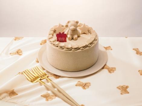 ジェラート ピケ(gelato pique)焦がしキャラメル味のクリスマスケーキ(税込4,309円)