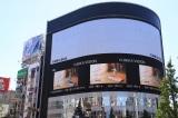 乃木坂46結成10周年を記念した全長約150m&総枚数45枚の大型広告が乃木坂駅に登場(C)乃木坂46LLC/Y&N Brothers Inc. (C)gumi
