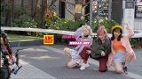 AKB48が出演するABCマートのWEB CM「ニューバランス327 Walking Dance篇」メイキングカット
