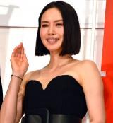 映画『総理の夫』初日舞台あいさつに登壇した中谷美紀 (C)ORICON NewS inc.