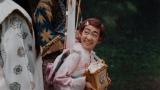 au三太郎シリーズ最新作TVCM「新しいきびだんご」篇に出演する村山輝星