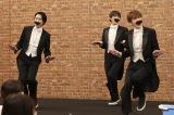 26日放送『ドリフに大挑戦スペシャル』に出演するSnow Manの宮舘涼太、向井康二、深澤辰哉 (C)フジテレビ